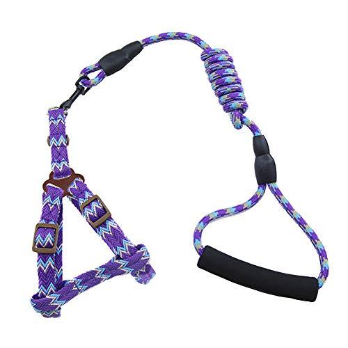 cloudbox Arneses para perros - Collares de perro para mascotas Arneses de plomo pequeño y grande suministros para perros (0,6 x 120 cm) para mascotas