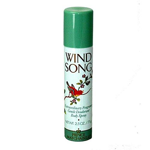 Wind Song de Prince Matchabelli Déodorant Corps Vaporisateur 75 Ml Pour Femme