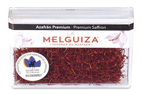 """Premium Safran aus Spanien Geschützte Ursprungsbezeichnung """"La Mancha-Spain"""" / Premium Top Qualität Safranfäden im a box (4 GR)"""