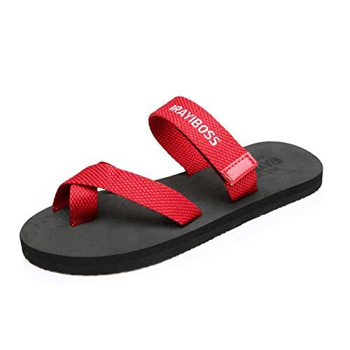 MedusaABCZeus Sandalias Chanclas Equalizer,Chanclas Unisex, Sandalias Antideslizantes Zapatos de Playa-Rojo_38,Zapatos de Playa y Piscina para