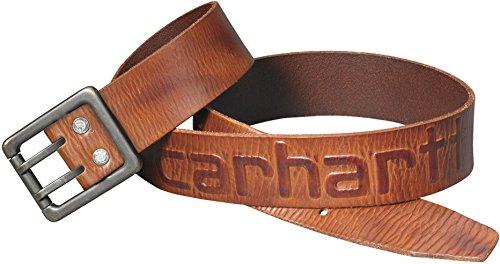 Carhartt logo riem 2217 36 EU bruin