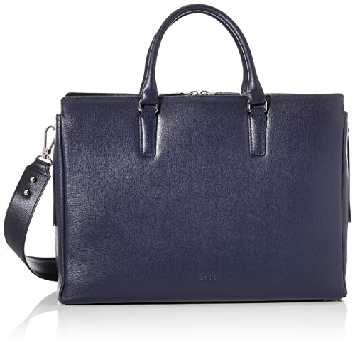 BREE Collection Damen Chicago 5, Workbag Business Tasche, Blau (Navy Blazer), 12x30x40 cm
