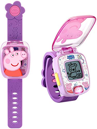 VTech Peppa Pig Learning Watch, Purple