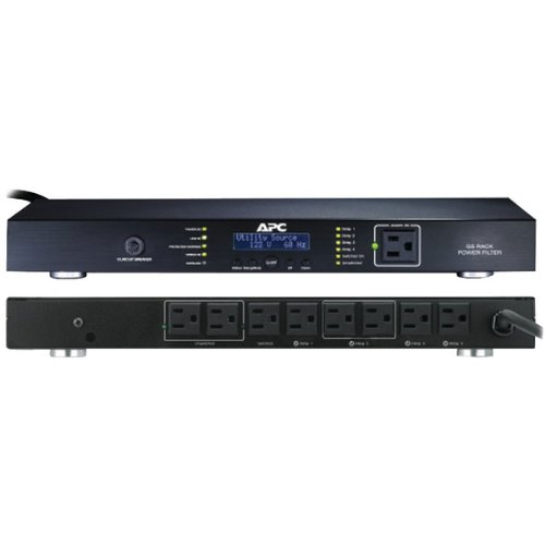9-OUTLET G-TYPE RACK-MOUNTABLE POWER CONDITIONER (Catalog Category: SURGE PROTECTORS/IUPS / POWER PROTECTION)
