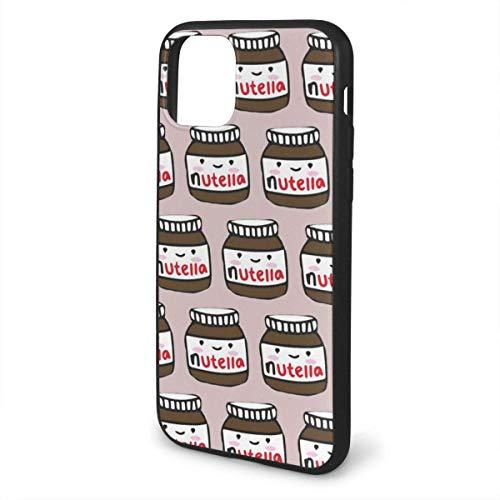 ZARLAY para iPhone 11 Funda Nutella Patrón Funda Protectora de Goma de Gel de Silicona para iPhone 11