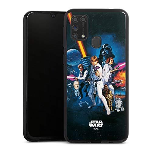 DeinDesign Silikon Hülle kompatibel mit Samsung Galaxy M31 Case schwarz Handyhülle Fanartikel Star Wars Episode IV