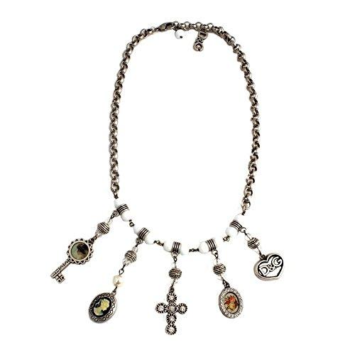 D&G Dolce&Gabbana Damen-Halskette Edelstahl 53cm DJ0258