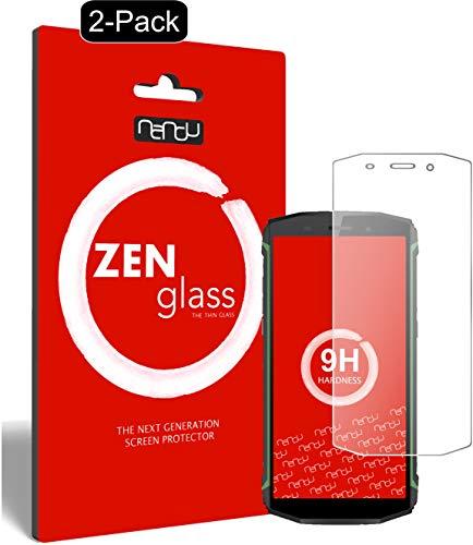 ZenGlass (2 Stück Flexible Glas-Folie kompatibel mit Blackview BV5800 Pro Panzerfolie I Display-Schutzfolie 9H