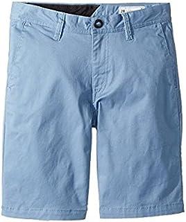 ボルコム Volcom Kids キッズ 男の子 ショーツ 半ズボン Wrecked Indigo Frickin Lightweight Shorts [並行輸入品]