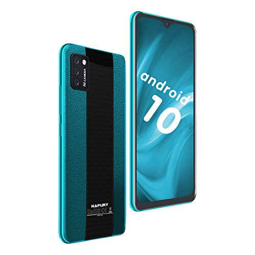 HAFURY M20 (2020) Smartphone 5.5 Pollici Android 10 Tripla Fotocamera 3100mAh 2GB RAM 16GB ROM FaceFace ID Dual SIM 4G Cellulare Verde