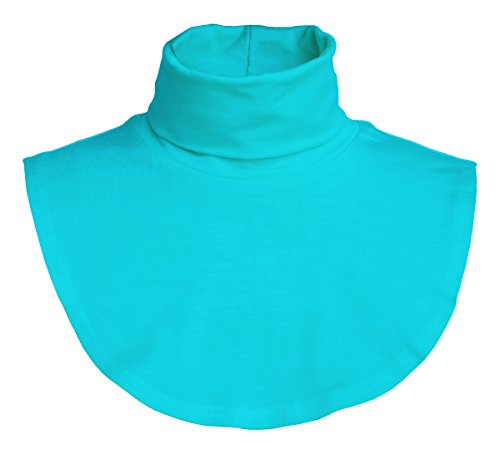 JC Womens Neck Dickey False Fake Turtleneck Neck Warmer Made in USA S to XL