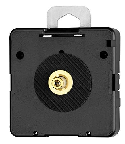 Hermle Quarzuhrwerk NH 2100 – Ideal für Uhren-Selbermacher – Zeigerwerklänge ohne Sek. 21,0 mm – Inklusive Einbauzubehör – C104672