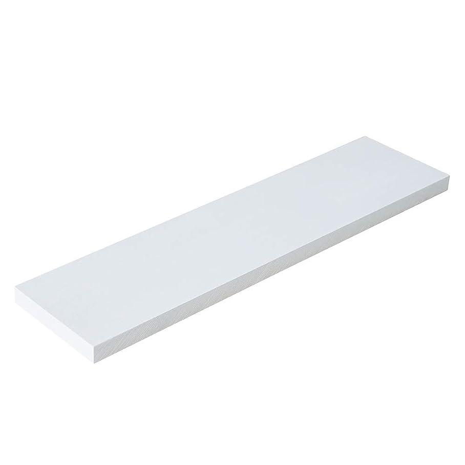 決して相続人反射平安伸銅工業 LABRICO ウォールシェルフ用棚板 ホワイト 400×100×15 パイン集成材棚板 WSW-73