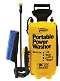 Streetwize SWPW2 Portable Power Washer - 10L Multipurpose Sprayer - Car, Garden, Home, Outdoor Use