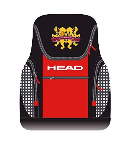HEAD Training Backpack 33Rucksack Unisex, Unisex, schwarz/rot, Einheitsgröße