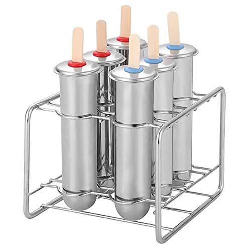 Nrpfell Edelstahl EIS Am Stiel Form EIS Creme Stick Pinsel Startseite DIY Obst Innovation EIS Rohr Form