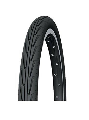 Michelin Rennradreifen City´J, 37-490 (550A Confort), schwarz/weiß, FA003466040