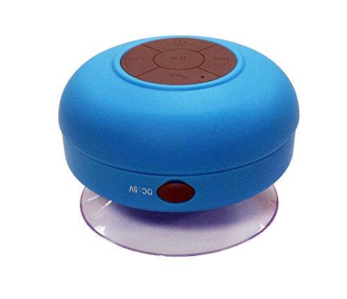 NK NK-AB3009BAZ - Altoparlante Bluetooth 3.0 portatile (resistente all'acqua, mani libere e batteria ricaricabile), colore: blu