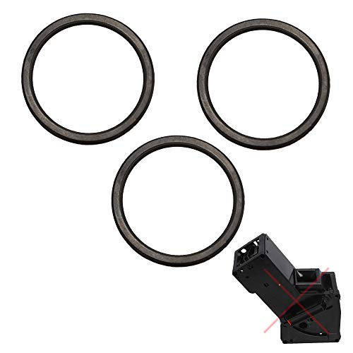 SW-K 3x guarnizione O-ring tenuta a labbro compatibile per Melitta Miele CM CVA Siemens Nivona Krups XP per il gruppo erogatore pistone pressione gruppo pistone
