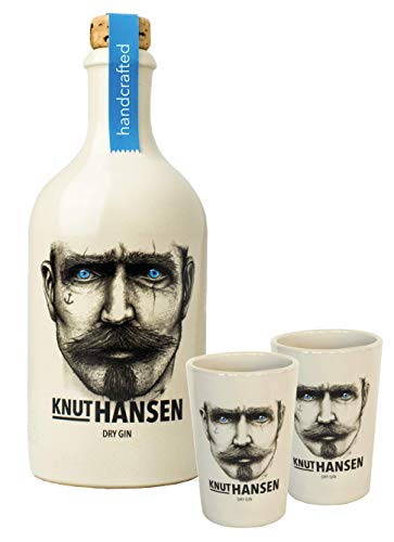 Knut Hansen HOMEPARTY-PAKET Gin + 2 Becher