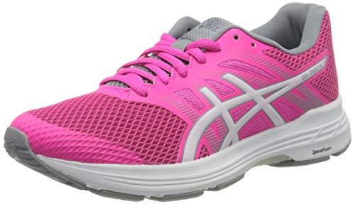 Asics Gel-Exalt 5, Running Shoe Femme, Pink Glo/White, 38 EU