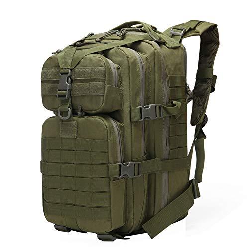 YOYOLIFE Mochila táctica 50L, mochila militar 50L, mochila Molle, mochila del ejército, bolsa de escalada de caza, Verde militar, L