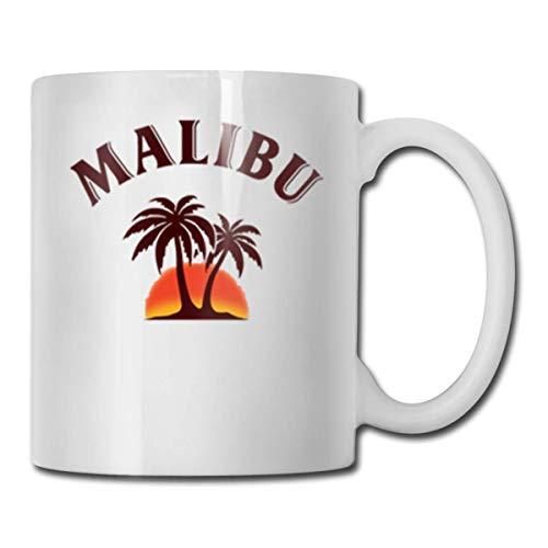 N / A Malibu Kaffeetasse, süße Väter Spaß Tasse weiße Krankenschwester lustige Kaffeetasse