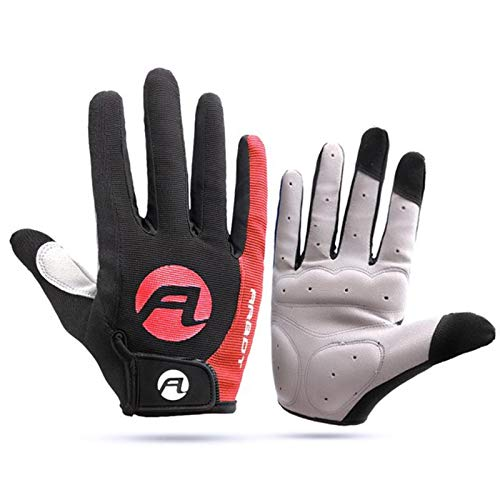 Guantes de ciclismo de verano, todos los dedos, para absorber el sudor de los ciclistas masculinos y femeninos al aire libre, protección deportiva