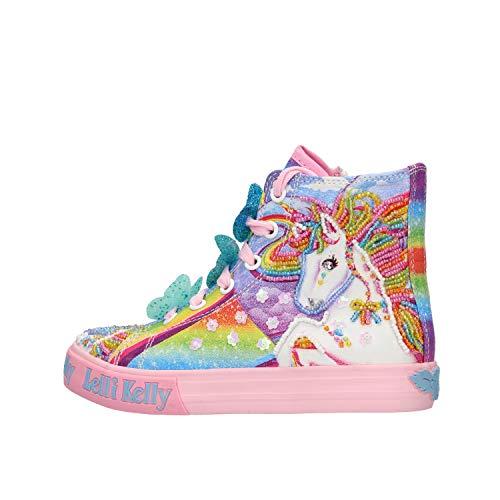 Lelli Kelly - Sneakers da ragazza a tema unicorno, (multicolore), 29 EU