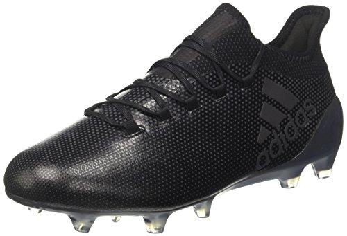 Adidas X 17.1 FG, Botas de fútbol Hombre, Negro (Negbás/Supcia 000), 39 1/3 EU