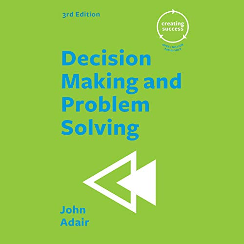 Decision Making and Problem Solving audiobook cover art