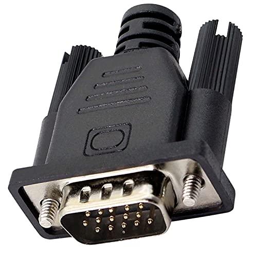 Adaptador de señal VGA para monitor virtual sin cabeza Ethereum ETH ZEC BTC Mining 1080p a 60Hz -1 paquete