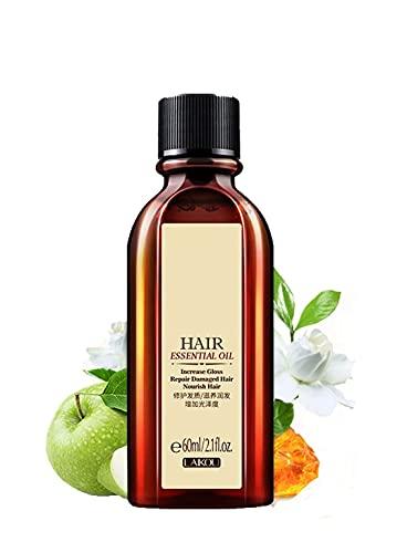 Aceite esencial multifuncional para el cabello,aceite esencial marroquí para el cuidado del cabello,más adecuado para reparar las puntas abiertas, el cabello encrespado y anudado