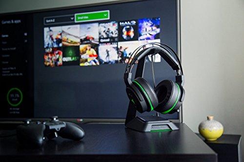 Razer Thresher Ultimate - Xbox One Kabelloses Gaming Kopfhörer (mit 7.1 Surround Sound, ausziehbarem Mikrofon, 50mm Treibern und maximalem Komfort) schwarz