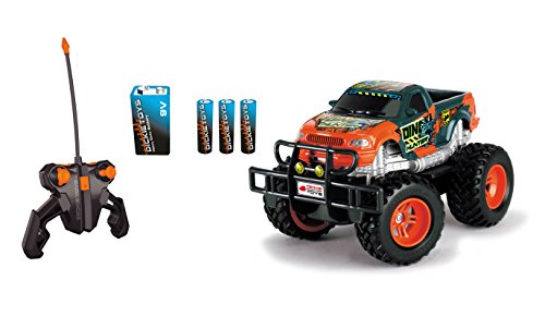 RC Monstertruck kaufen Monstertruck Bild 1: Dickie Toys 201119077 - RC Dino Hunter, funkferngesteuerter Monstertruck inklusive Batterien, 19 cm*