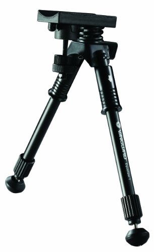 VANGUARD Equalizer 1 - Bipiede per Fucile da 24 a 33 cm, Colore: Nero
