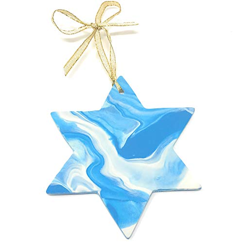 Star of David Christmas Hanukkah Ornaments for Christmas Tree Gift for Jewish Women