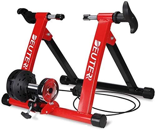 Vélo Rollers intérieur vélo vélo Entraîneur 26-28 pouces Accueil Exercise Fitness Support Vélo Pièces Route VTT Formation Accessoires Kit niveaux de résistance portable travail formateur vélo Out mach