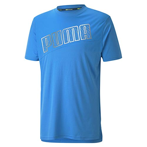 Puma Camiseta regular para hombre, Nrgy Blue, L
