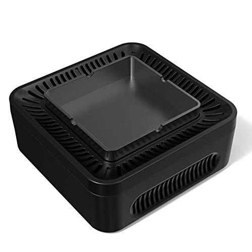 Henreal asbak luchtreiniger hogedruk negatieve ionen USB-lader voor thuiskantoor en auto