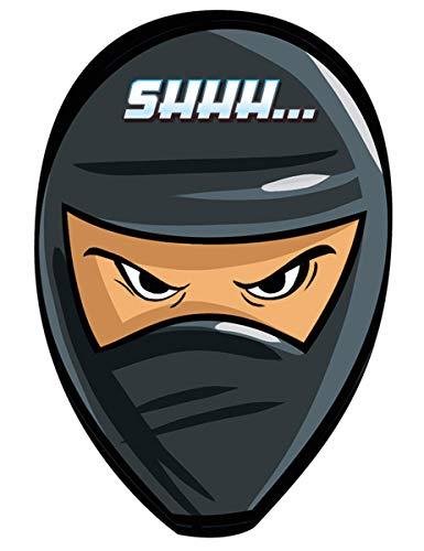 Amscan 8 Einladungskarten Geburtstag mit dem Motiv Ninja