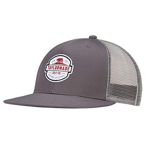 2021 Flatbill Trucker Hat, Gray