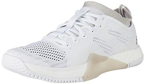 adidas Crazytrain Elite W, Zapatillas de Deporte Interior para Mujer, (Ftwbla/Plteme/Griuno), 38 2/3 EU