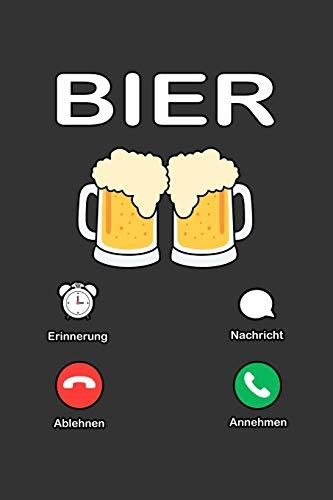 Bier: A5 Notizbuch | Notebook | Notizheft | Punktraster | Bier trinker | Hopfen und Malz | Dotgrid - Geschenkidee für Bier liebhaber, 120 Seiten ca. Din A5 (6x9