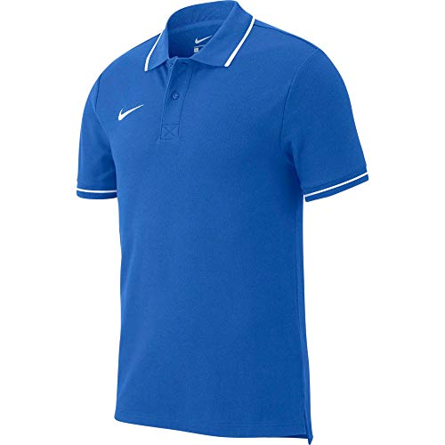 Nike Team Club 19 Polo Polo Enfant Royal Blue/White FR : S (Taille Fabricant : S)