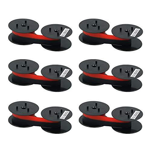 Printerfield Taschenrechnerspule GR24 GR41 GR42, schwarz/rot, für Star DP8340
