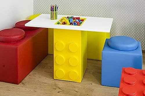 Brickz Spieltisch, 90 x 50 cm, für Lego-Fans