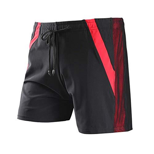wsxcfyjh Costume da Bagno Uomo Pantaloncini da Bagno Traspiranti Ad Asciugatura Rapida da Uomo Costumi da Bagno Boxer Costumi da Bagno Shorts-Come_L'Immagine_Size_for(65-90Kg)