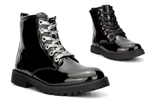 Girls Combat Boots Girls Military Boots Girls Ankle Boots Womens Boots...