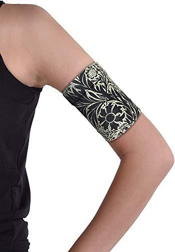 Dia-Band, brazalete de mantenimiento y protección para sensor de glucemia Freestyle Libre, Medtronic, Dexcom o Omnipod – Banda para diabética cómoda y reutilizable (M (27-31 cm)